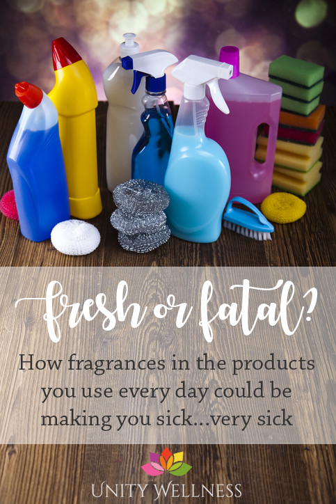 Fresh or Fatal? How fragrances in the products you use every day can make you sick...very sick | www.unitywellness.com.au