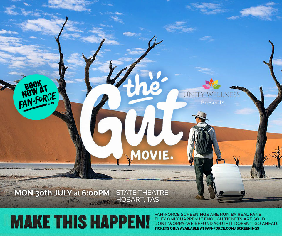 The Gut Movie Hobart Screening | www.unitywellness.com.au